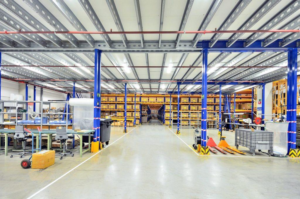 large shipping warehouse