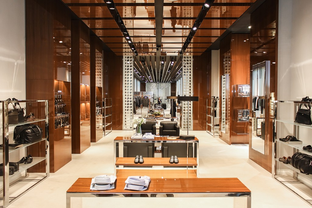 luxury retail store