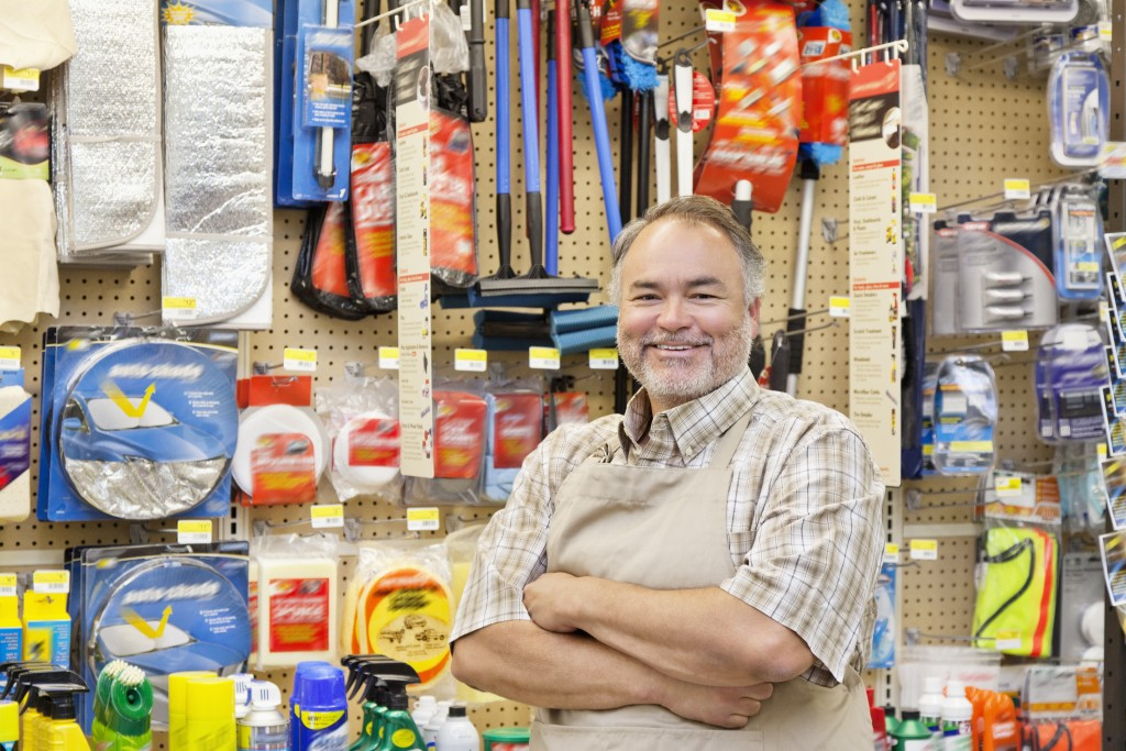 hardware store owner
