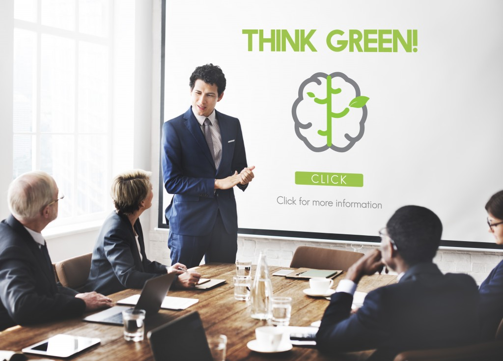 think green presentation