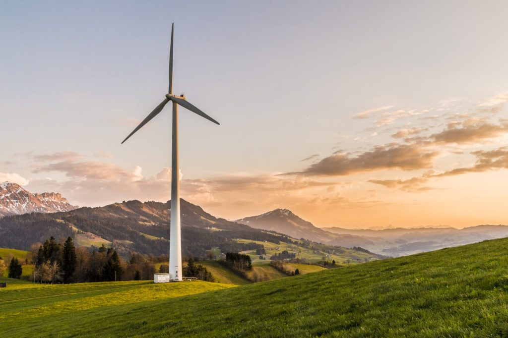 windmill green area energy