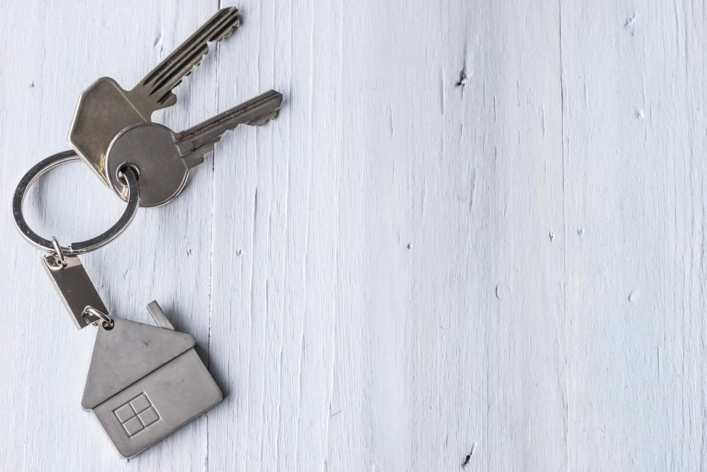 key with home keychain