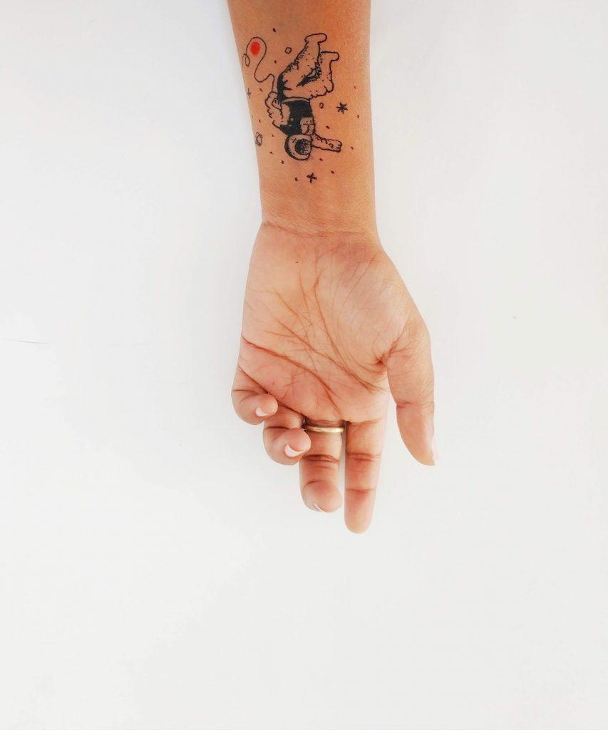 tattoo on a woman's wrist